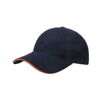 BRUSHED COTTON SANDWICH CAP