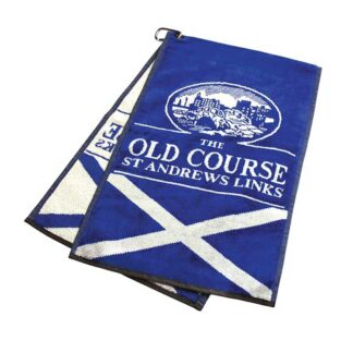 Jacquard Golf Towel