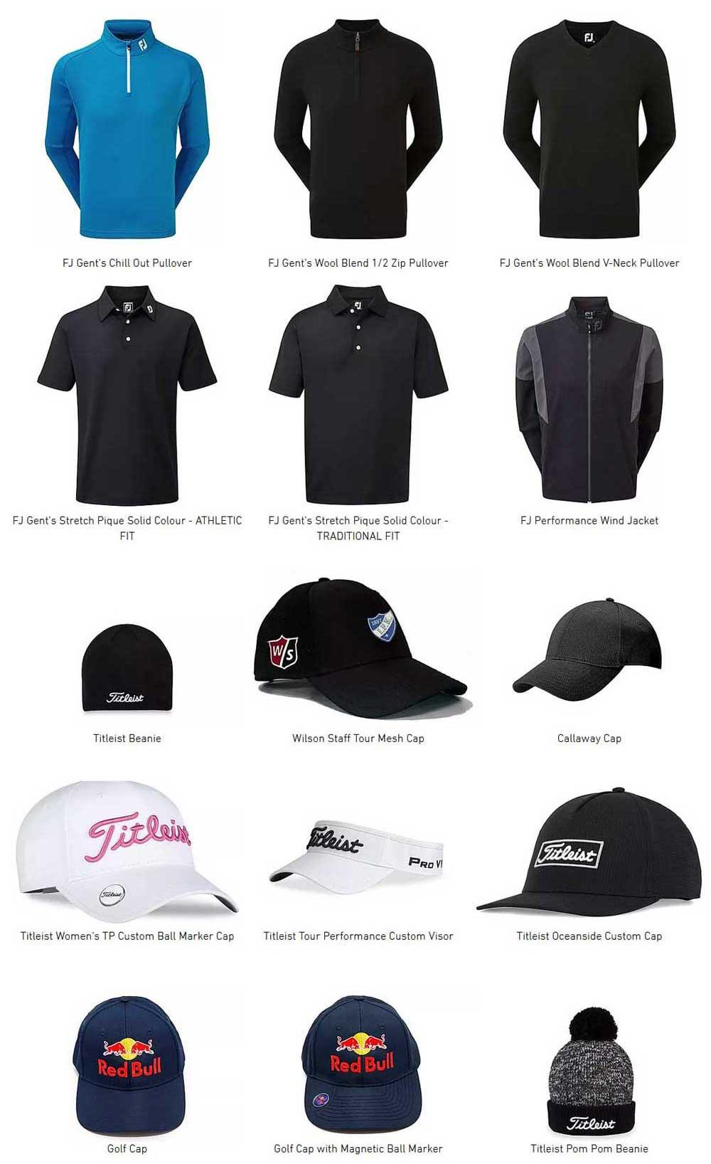 Golfkleding 2020