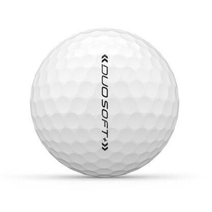 Wilson Staff Duo+ logo golfballen