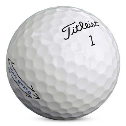 Titleist Tour Speed bedrukte golfballen