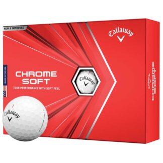 Callaway Chrome Soft logo golfballen