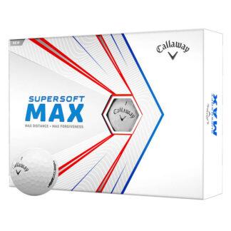 Callaway Supersoft MAX logo golfballen