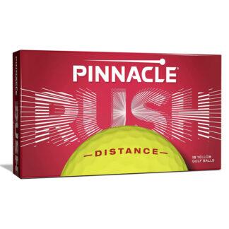 Pinnacle Rush Yellow logo golfballen