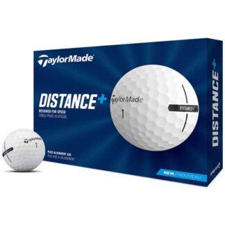 TaylorMade Distance+ logo golfballen
