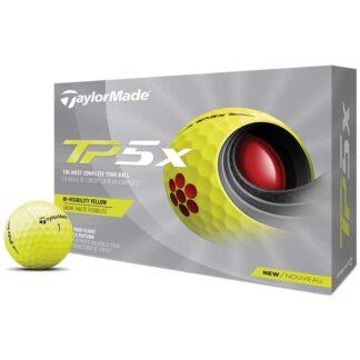 TaylorMade TP5x logo golfballen