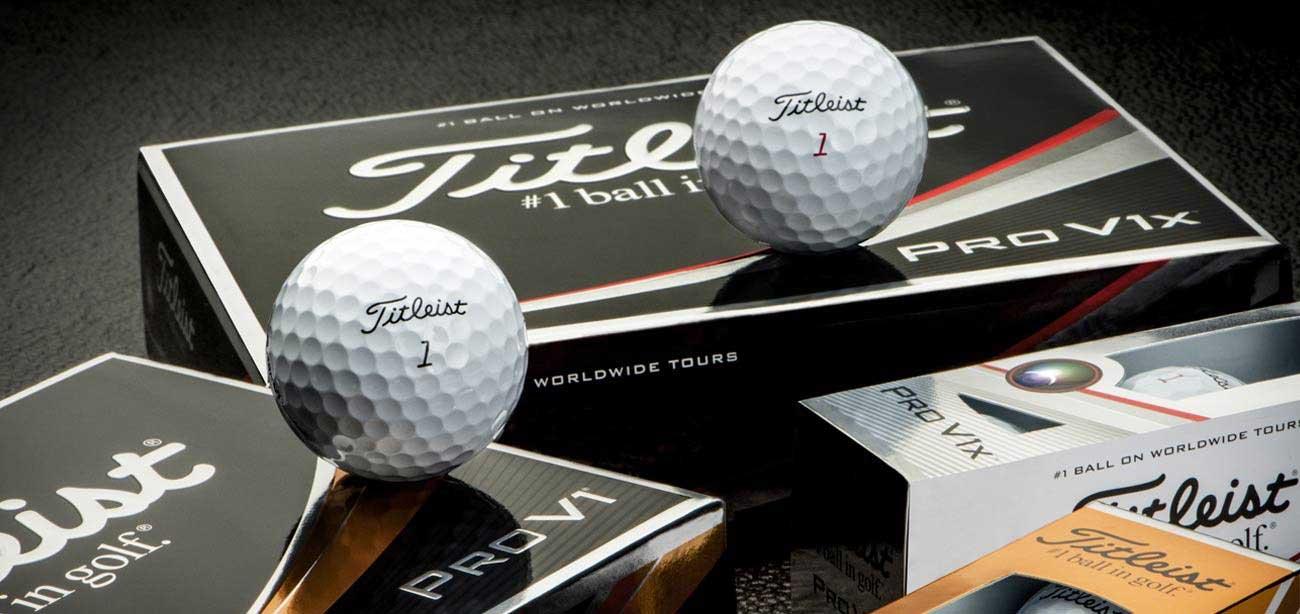 Titleist logo golfballen